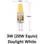 G4 12V 3W (20W Equiv) LED Light Bulb in Daylight White