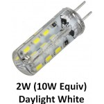G4 (12v) - 2W (10W Equiv) LED in Daylight White