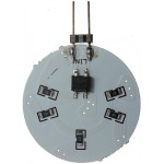 G4 12V - 15 LED (5630 SMD) Circular Shape in Daylight White