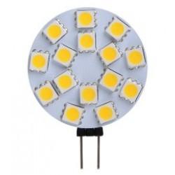 G4 (12V)  - 2W 15 LED Circular / Disc Shape in Daylight White