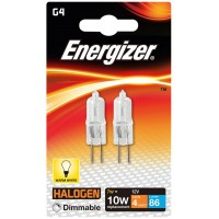 (2 Pack) G4 7W (10W) Eco Halogen Capsule Light Bulbs