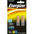 (Twin Pack) 2W G9 (20W Equiv) LED Capsule Light Bulb Daylight White