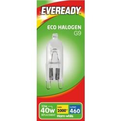 G9 - 33W (40W Equiv) Halogen Energy Saver Capsule
