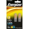 (Twin Pack) 2W G9 (20W Equiv) LED Capsule Light Bulb - Warm White
