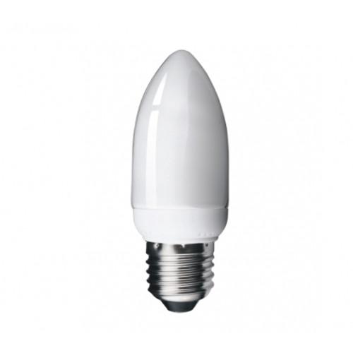 7W (35-40 Watt) Edison Screw Low Energy CFL Candle Light ...