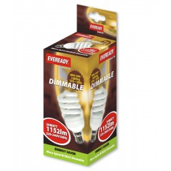 Dimmable 20w (100w) Eveready Soft Lite Bayonet B22 / BC Micro Spiral