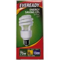 20w (100W) Edison Screw Low Energy Light Bulb - Warm White