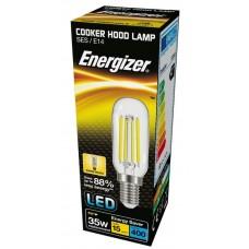 3.8W (35-40W Equiv) LED Filament Cooker Hood Light Bulb Small Edison Screw SES / E14