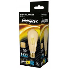 Dimmable ST64 5W (40W Equiv) LED Filament Antique Edison Screw