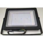 10W Slimline Premium LED Floodlight - Daylight White (White Case)