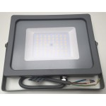 50W Slimline Premium LED Floodlight - Warm White (Grey Case)