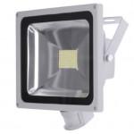 80W (800W Equiv) LED Floodlight with PIR - Daylight