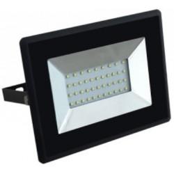 30W Slimline Premium High Lumen SMD LED Floodlight Warm White