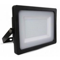 150W Slimline Premium LED Security Floodlight Daylight White (Black Case)
