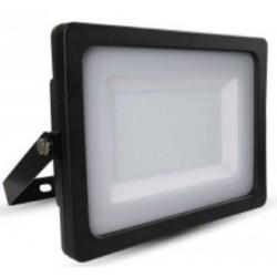 200W Slimline Premium LED Floodlight - Daylight White (Black Case)