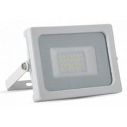 20W Slimline Premium High Lumen LED Floodlight - Daylight White (White Case)
