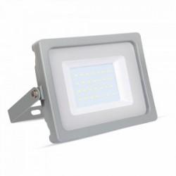 30W Slimline Premium High Lumen LED Floodlight Warm White (Grey Case)