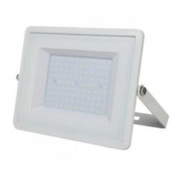 100W Slim Pro LED Floodlight - Daylight White (White Case)