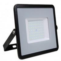50W Slim Pro LED Security Floodlight Warm White (Black Case)