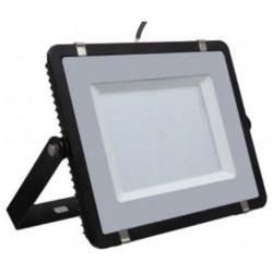 200W Slim Pro LED Security Floodlight - Daylight White (Black Case)