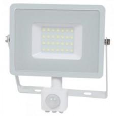 30W Slim Pro Motion Sensor LED Floodlight Warm White