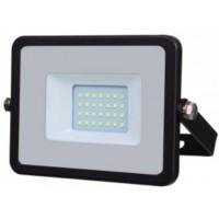 20W Slimline Premium High Lumen LED Floodlight Natural White (4000K)