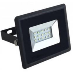 10W Slim Premium LED Floodlight - Warm White (Black Case)