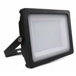 100W Slim Premium LED Floodlight - Warm White (Black Case)