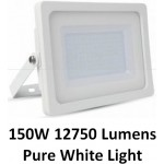 150W Slimline Premium High Lumen LED Security Floodlight Daylight White
