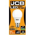 6W (40W) LED GLS Bayonet Light Bulb - Warm Whiite (3000K)