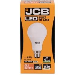 15W (100W) LED GLS Bayonet Light Bulb - Cool Whiite (4000K)