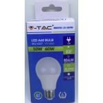 10W (60 Watt) LED GLS Edison Screw Light Bulb - Daylight Pure White (6400K)