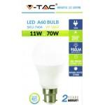 11W (70 Watt) LED GLS Bayonet Light Bulb - Warm White