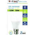 11W (70 Watt) LED GLS Bayonet Light Bulb - Daylight White Light