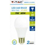 9W (60 Watt) LED GLS Edison Screw Light Bulb - Daylight Pure White (6400K)
