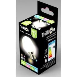 6W (40 Watt) LED Golf Ball Bayonet / B22 Light Bulb in Warm White