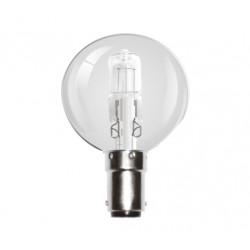 42W (60W Equiv) Small Bayonet Halogen Golf Ball Light Bulb