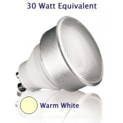 7W (30W) GU10 Kosnic Low Energy Spotlight - Warm White