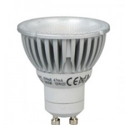 Dimmable 6W (50W Equiv) LED GU10 Megaman  - (Warm White)