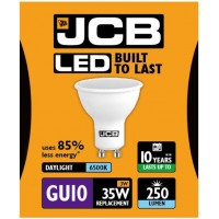 3W = 35W LED GU10 Spotlight Light Bulb in Daylight White
