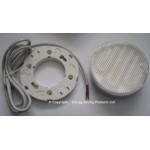 11W (60W) GX53 Disklight Kit in Cool White (835 / 3500K) inc Surface Fitting