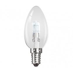 Halogen 42W (60W Equiv) Small Edison Screw (E14) Candle Lamp