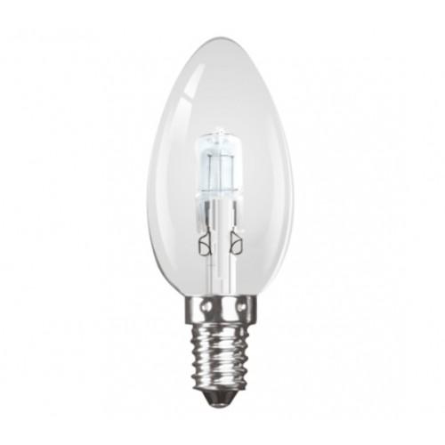 halogen 42w 60w equiv small edison screw e14 candle light bulb. Black Bedroom Furniture Sets. Home Design Ideas