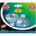 2 Pack - Halogen 35W (50W Equiv) Energy Saver MR16 Lamps / Spotlights