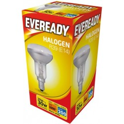 Halogen R39 20W (25W Equiv) E14 SES Reflector Low Energy Saving Lamp