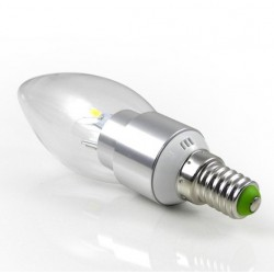Dimmable 6w (40w) LED Candle - Small Edison Screw in Daylight