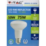 10W (75 Watt) LED R80 ES / E27 Reflector Spotlight (Natural White)
