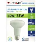 10W (75 Watt) LED R80 ES / E27 Reflector Spotlight (Daylight White)