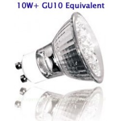 18 LED 2W GU10 Low Energy Saving Lamp / Light Bulb (Blue)
