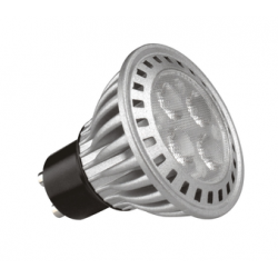 6W (50W Equiv) Dimmable LED GU10 - (Cool White)